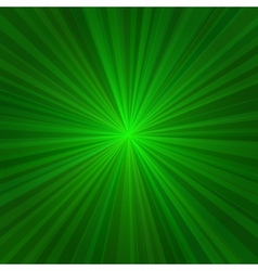 Light Green Rays Abstract Background vector