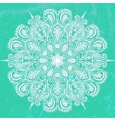 mandala design vector image