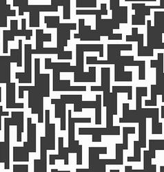 monochrome tech seamless pattern vector image vector image