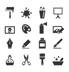 Art icon4 vector image