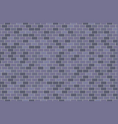 brick wall grey or gray texture background vector image