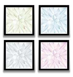 Diamond buttons vector image