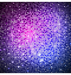 Disco abstract neon background vector image