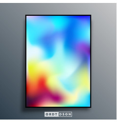 Gradient texture design for background poster vector