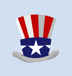 Happy independence day hat cap image vector