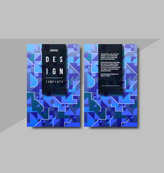 minimal covers design creative concept with vector image