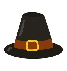 Old farm hat vector