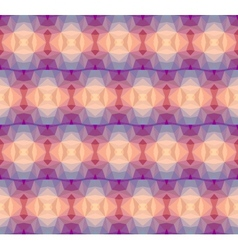 Pastel geometric pattern vector image