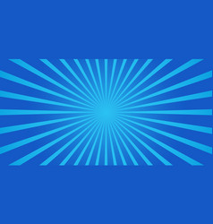 Simple blue starburst abstract background vector