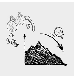 Sketch icon creative concept Flat illiustration vector