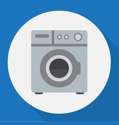 of home symbol on washing vector image vector image