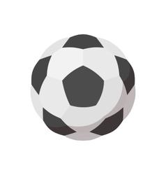 Soccer ball cartoon icon vector image vector image