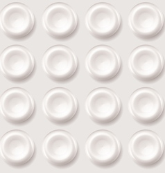 Abstract plastic regular pattern background vector image vector image