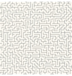 Maze Seamless background vector image