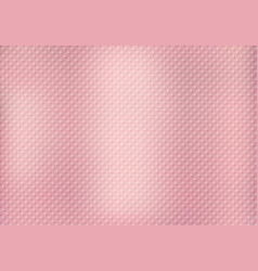 abstract squares pattern texture on pink gold vector image