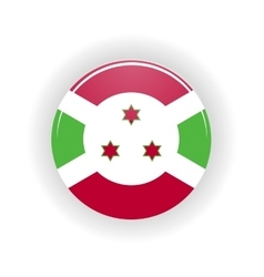 Burundi icon circle vector image