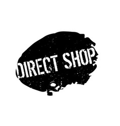 Direct shop rubber stamp vector