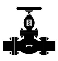 Industrial valve symbol vector