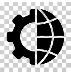 International manufacture icon vector
