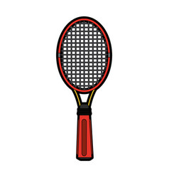 Racket or racquet tennis accessories icon image vector