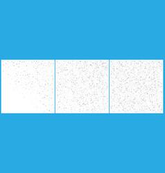 Silver polka dot confetti celebrations simple vector