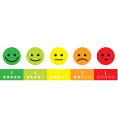 smiley face satisfaction emoticon happiness smile vector image