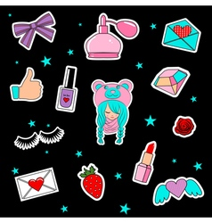 stickers3 vector image