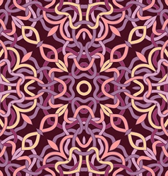 Symmetric seamless pattern vector