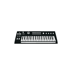 Synthesizer vector image