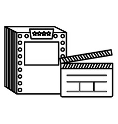ticket machine design vector image