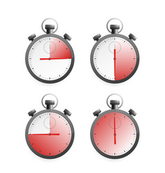 Timer great design for any purposes flat vector