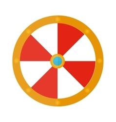 Knight shield vector image