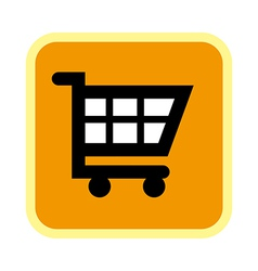A icon of cart vector image vector image