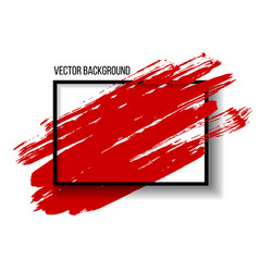 Abstract background design with art brush paint vector