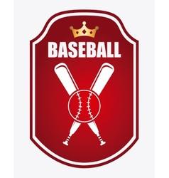 baseball game vector image