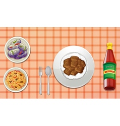 Food vector image