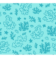 Artistic floral decorative pattern vector