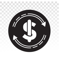 Automatic recurring payments or billing cycle vector