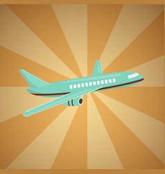 cheap flights flight concept vector image