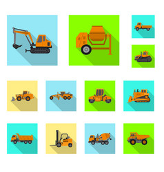 design of build and construction symbol vector image