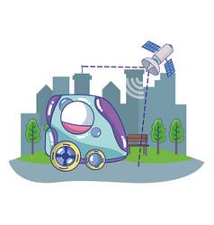 Future concept cartoon vector