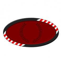 race badge vector image