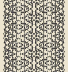 Traditional arabic islamic geometric seamless vector