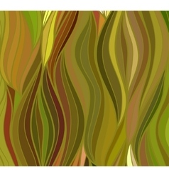 Wave background of doodle drawn lines vector