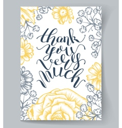 Hand Lettering vector image
