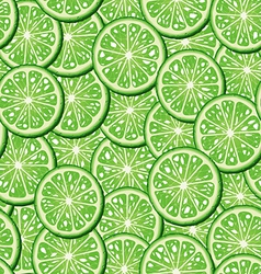 Limes seamless background vector image