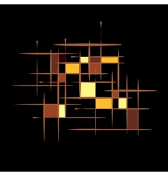 abstract technology seamless background vector image