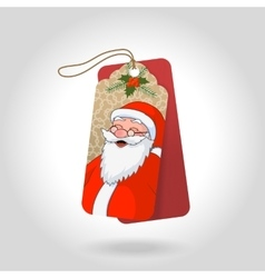 Cute christmas gift tags with funny vector