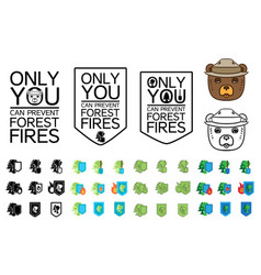 environment protection icon vector image