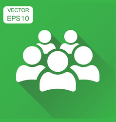 Group of people icon business concept persons vector